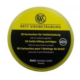 rws razp. 9x17 mm rumen-velike domače živali (50)