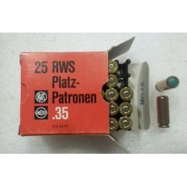 rws razp. .35 R WS (25)