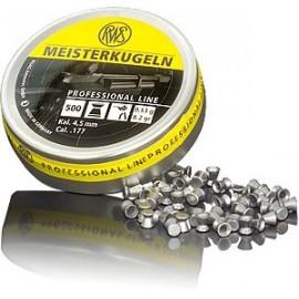 rws Meisterkugeln 4,5 mm, 4,50mm, 0,53g (500) puška