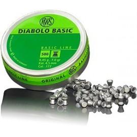 rws Diabolo Basic 4,5 mm 0,45g (500)