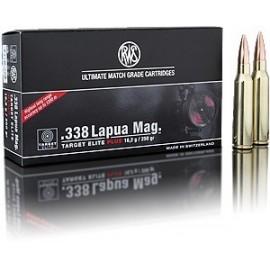 rws .338 Lapua Mag. Target Elite Plus 16,2g (20)