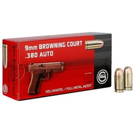 geco 9 mm  Browning KURZ .380 AUTO VM 6,15g (50)