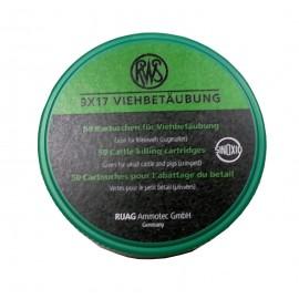rws razp. 9x17 mm zelen-male domače živali (50)