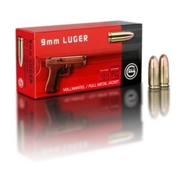 geco 9mm Luger FMJ 8,0g (50)
