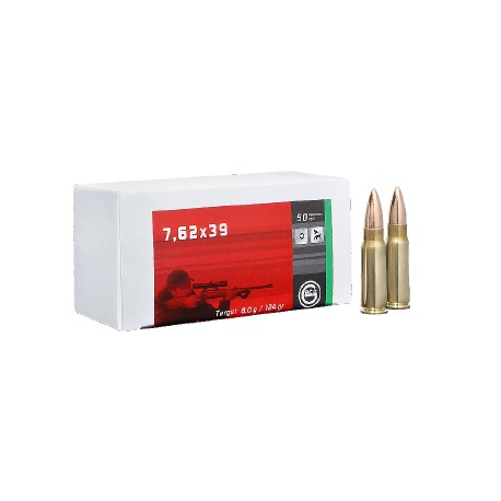 geco 7,62x39 Target 8,0g 124gr (50)