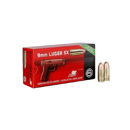 geco 9mm Luger SX Tombak 8,0g (50)