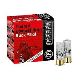 geco Coated Competition Buck Shot 12/65 27g (25)