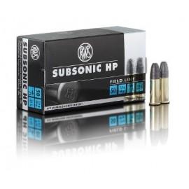 rws .22lfB Subsonic HP (10x50)