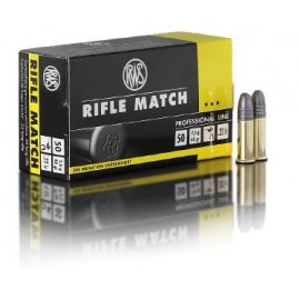 rws .22lfB Rifle Match (10x50)