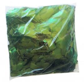 Konfeti metal, ognjevarni zeleni