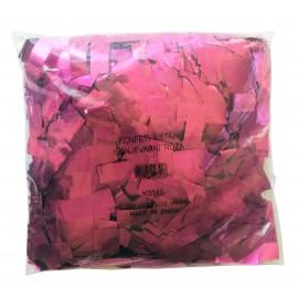 Konfeti metal, ognjevarni roza