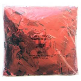 Konfeti metal, ognjevarni rdeči