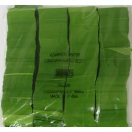 Konfeti papir, ognjevarni svetlo zeleni