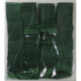 Konfeti papir, ognjevarni temno zeleni
