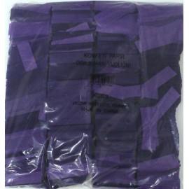 Konfeti papir, ognjevarni vijolčni