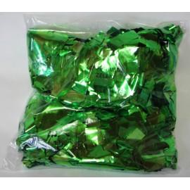 Konfeti metal zeleni