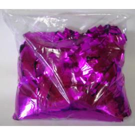 Konfeti metal roza