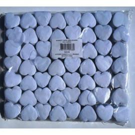 konfeti papir ognjevarni beli srček