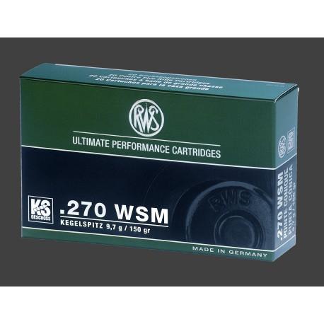 rws .270 WSM  KS 9,7g (20)