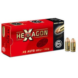 geco .45 Auto HEXAGON 13,0g (50)