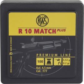 rws R10 Match Plus 4,5mm 0,53g (1000) puška Kombi-Pack