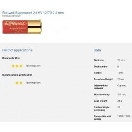 rtw Supersport 24 HV 12/70 2,2mm 24g (10x25)
