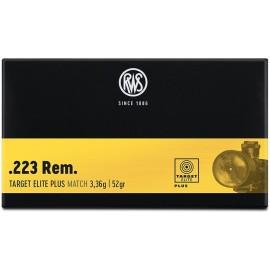 rws .223 REM TARGET ELITE PL 3,36G/52GR
