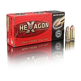 geco 9 mm Luger HEXAGON 8,0g (50)
