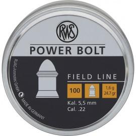 POWER BOLT 5.5 1.5G 100PC BLI